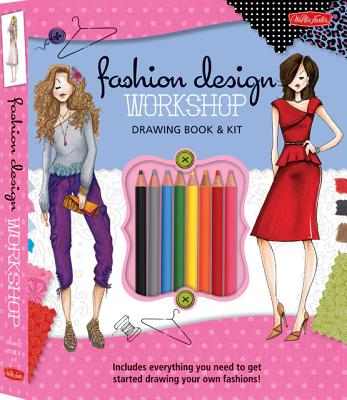 Fashion Design Workshop Drawing Book & Kit By Corfee, Stephanie