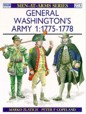 General Washington's Army By Zlatich, Marko/ Copeland, Peter F. (ILT)